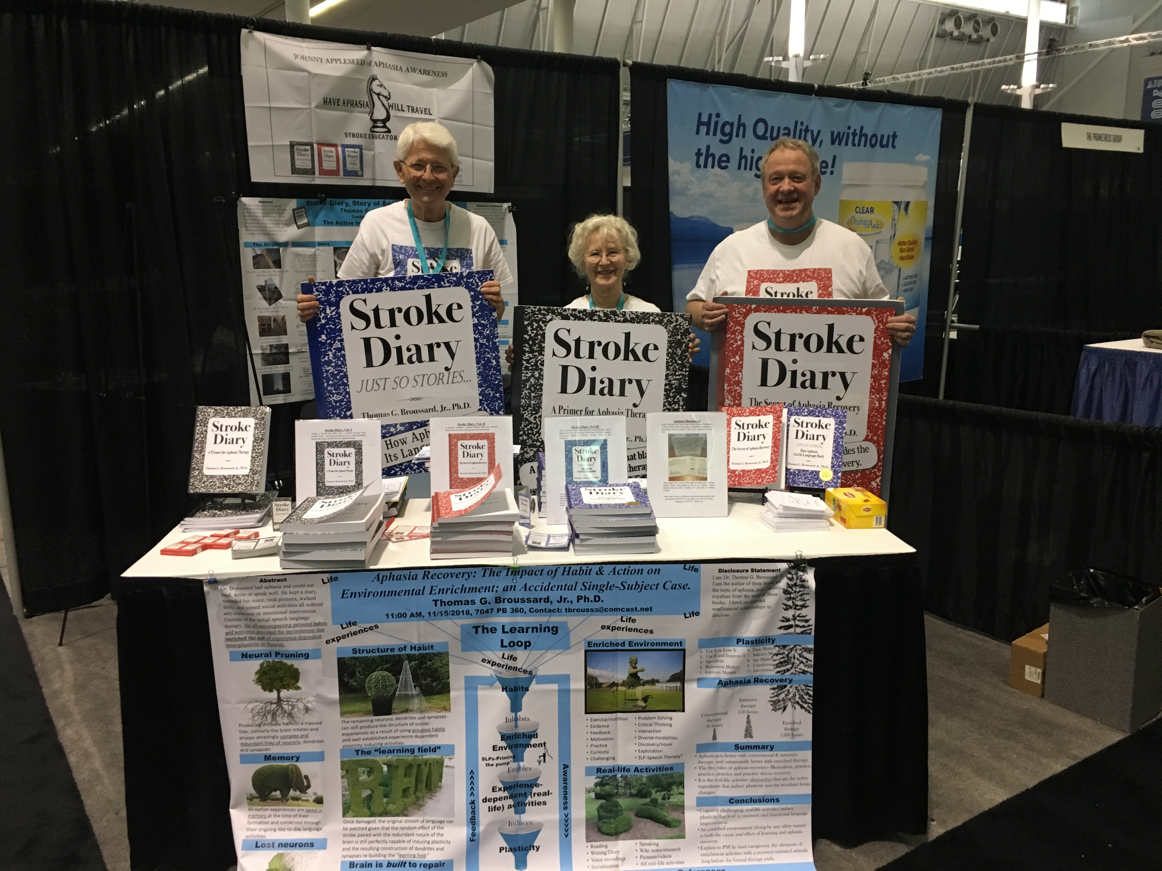Conference In Boston Wednesday November >> Boston Ma Booth 570 Stroke Educator Inc 2018 Asha Annual